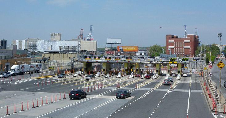 BBT toll plaza - Red Hook, Brooklyn -