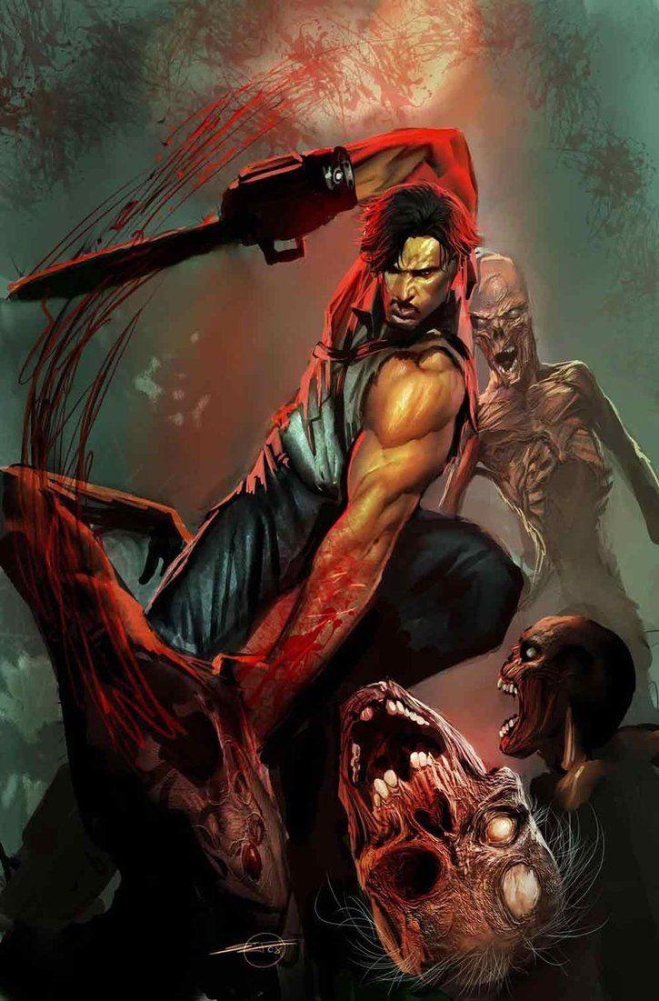 Army of DarknessGeek, Army, Ash, Evil Dead, Cartoons Stuff, Comics Horror Art, Dark Covers, Horror Movie, Stjepan Sejic