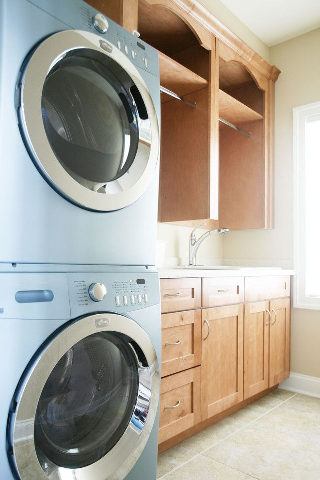 25 best ideas about stackable washer and dryer on for Tiny house stackable washer dryer