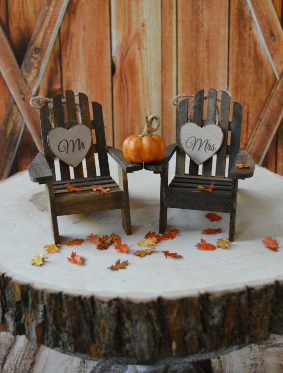 Hey, I found this really awesome Etsy listing at https://www.etsy.com/listing/207535944/fall-wedding-cake-topper-country-pumpkin