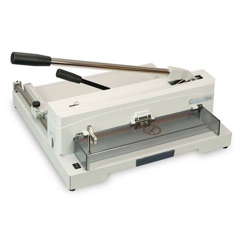 Formax CUT-TRUE13M CUT-TRUE 13M TABLETOP MANUAL PAPER CUTTE. Product Types: Guillotine Cutter| Header / Model: Cut-True 13M| Manufacturer Warranty: 90 day limited warranty on parts, excluding wearables and labor.