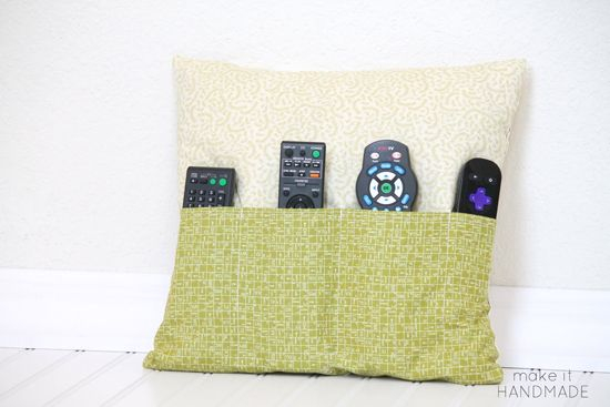 Cuscino porta-telecomandi - Tutorial