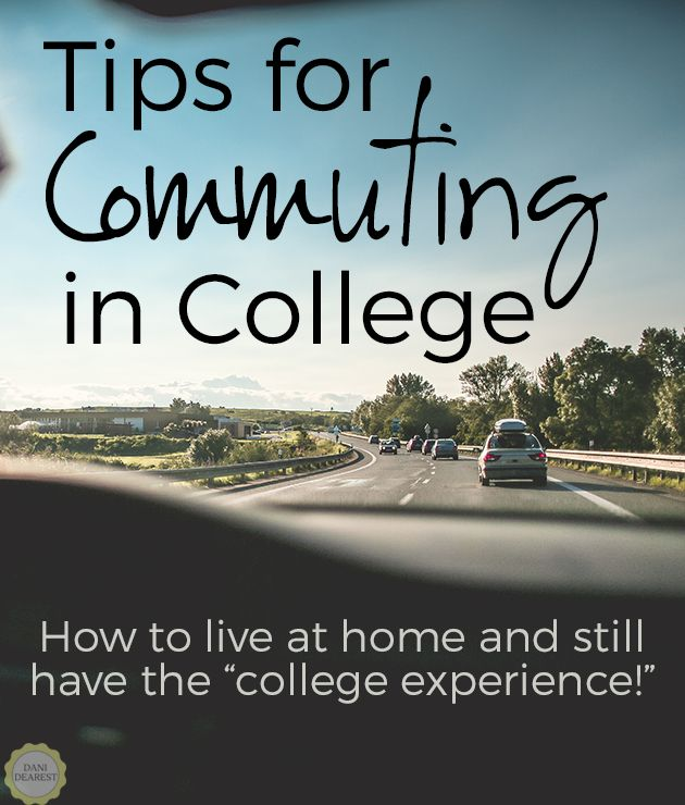 Tips for Commuter Students: Live at home and still make the most of your college experience! Get rid of your fear of missing out, save money, and have fun!