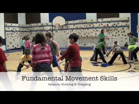 Physical Activity Idea - Circle Goal, via YouTube.  This activity is a great lead up to the fundamental movement skill (FMS) of striking. It can be used in small spaces or with large groups.