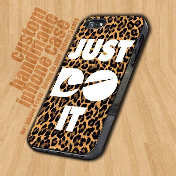 Nike Just Do It Leopard   - iPhone 4 / 4s Case - i ($15.9)