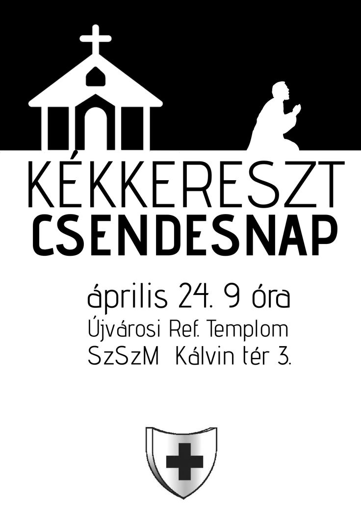 Saját készítésű plakátok || Kékkerszt Csendes nap  [] My posters, event flyers || BlueCross Silent Day