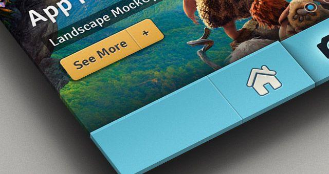 Perspective App Screen Mock-Up 2