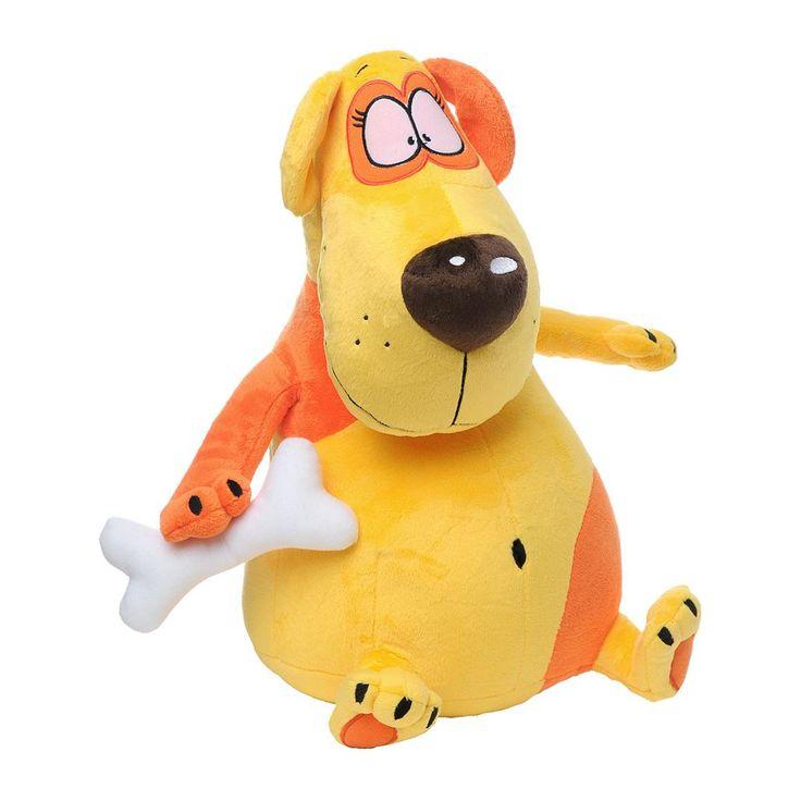Мягкая игрушка Пес с косточкой.