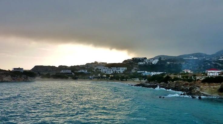 Visit Greece| Amopi beach, Karpathos Dodecanese #Greece www.facebook.com/skala.karpathos