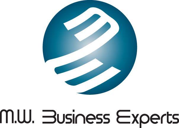 M.W. Business Experts logo  Design: Gino Caron