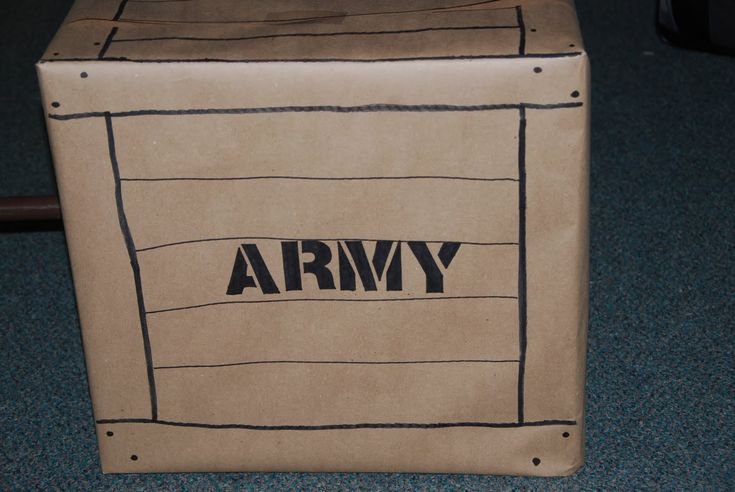 vbs boot camp decorations   neat idea for Army decor....made by our VBS director, Gray.