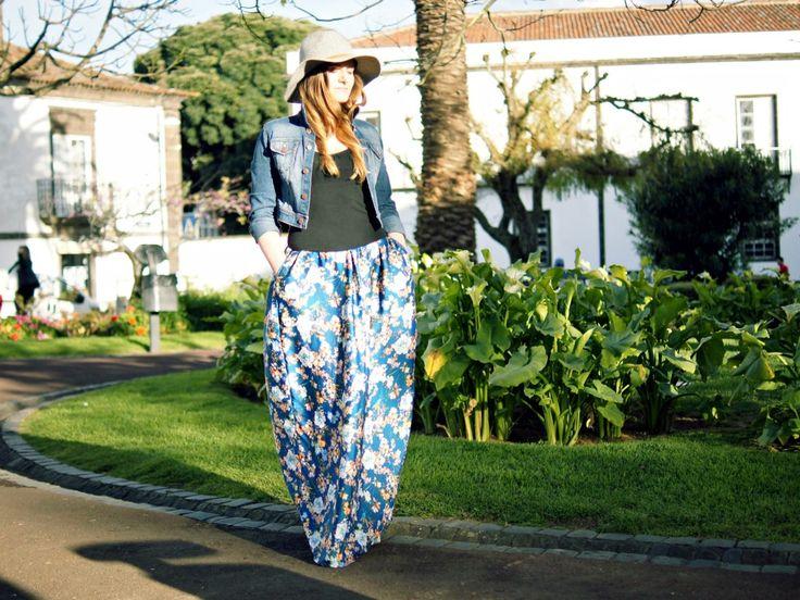 DIY maxi boho skirt - lilmissboho.com