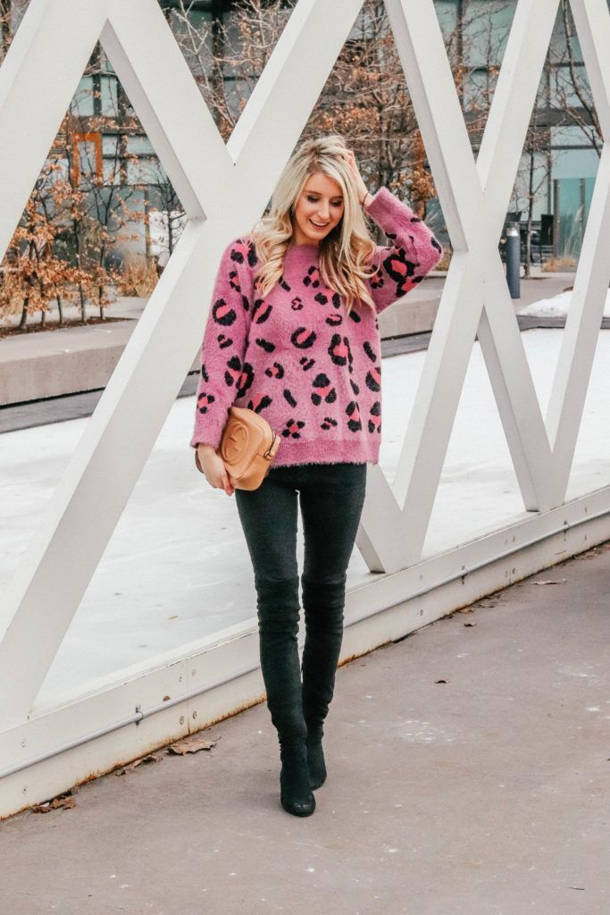 Sharing my favourite leopard accessories and statement pieces over on the Blog! See how I styled my favourite Pink Leopard Sweater!