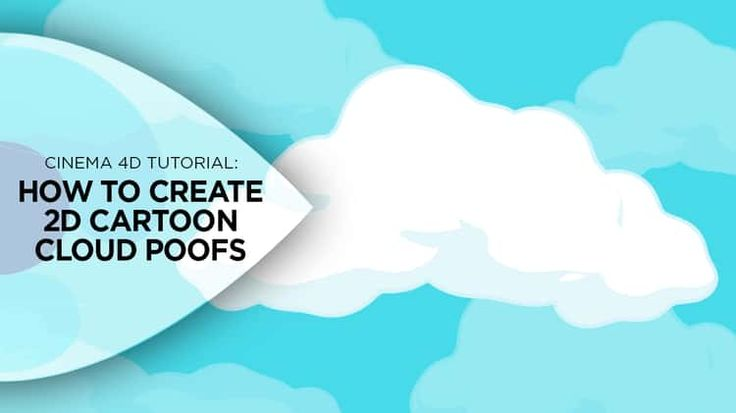 How to Create 2D Cartoon Cloud Poofs in Cinema 4D