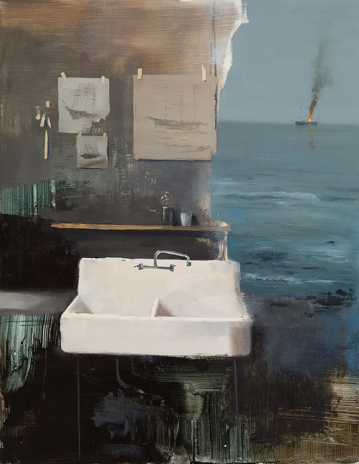 Artist Jeremy Miranda Examines Memory with Oil Landscapes that Bleed into Interiors