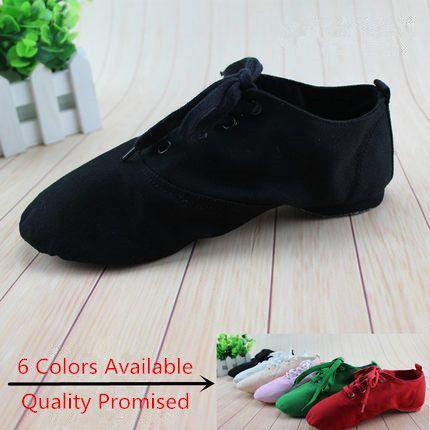 New 2016  Women Men  jazz dance shoes Flats Designer Soft Lace Up Canvas Jazz Shoes Knot Dancing Shoes women 4012