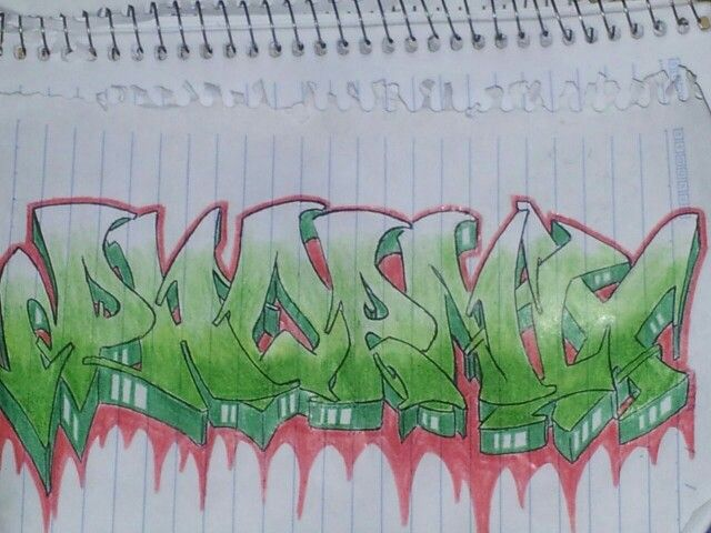 Graffiti phornix