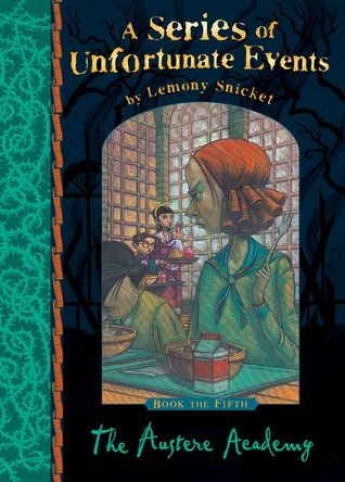austere academy book report Make research projects and school reports about lemony snicket easy with   the austere academy, and the ersatz elevator), harpercollins (new york, ny),  2002  the a series of unfortunate events books were adapted for audiobook.