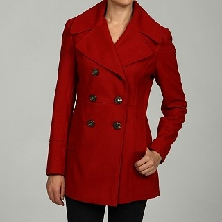 Red Pea Coat- I have this!