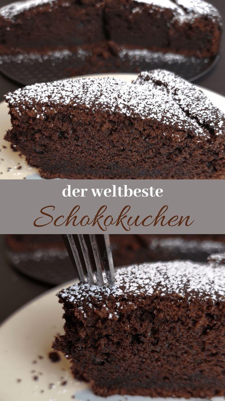 O bolo de chocolate mais suculento de todos os tempos – minha receita favorita