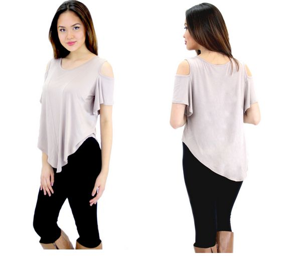 ADELE COLD SHOULDER TOP http://rollacosterclothing.com/collections/tops/products/adele-cold-shoulder-top