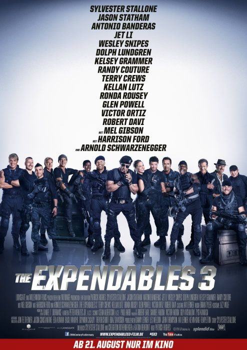 Poster zum Film: Expendables 3, The