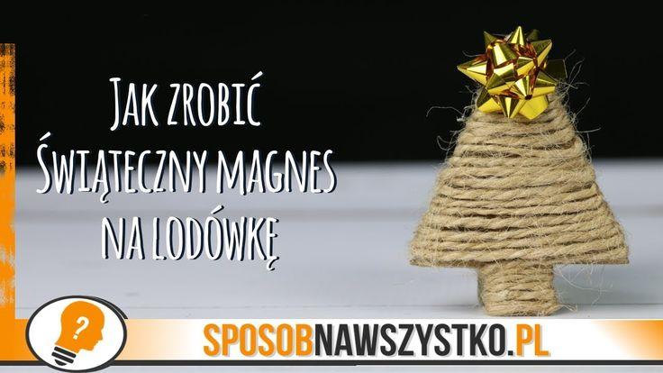 Jak zrobić magnes na lodówkę? - # #BożeNarodzenie #Bożenarodzenieozdoby #Dekoracjebożonarodzeniowe #Filmy #jakzrobićozdobynachoinkę #Origami #Ozdoby #Ozdobynachoinkę #ozdobynachoinkędiy #Ozdobyzpapieru #Papier #Święta #Zróbtosam