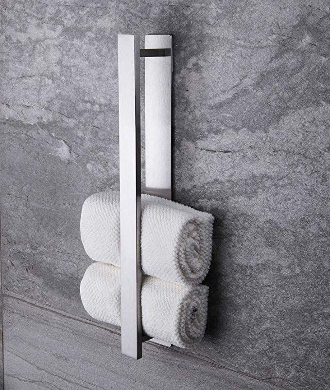 Handtuch Halterung Halt Was Sie Verspricht Baumarkt Eisenwaren Badezimmer Zubehor Handtuchhalter In 2020 Handtuchhalter Handtuchhalter Ohne Bohren Handtuchstange