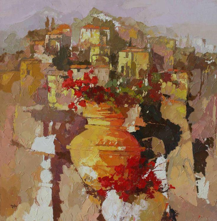 """Saatchi Art Artist: Alex Bertaina; Oil 2007 Painting """"Je me souviens"""""""