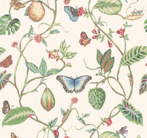 Lillian wallpaper by Thibaut