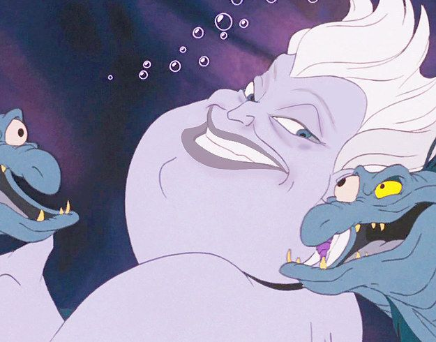 Ursula | This Is What Disney Villains Look Like Without Makeup