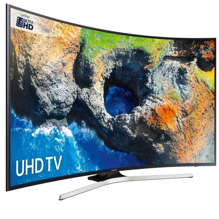 "QVCUK TSV OFFER 06/07/17 save £550... 12088 - Samsung UE65MU6200 65"" Smart 4K Ultra HD HDR Curved LED TV - QVC PRICE: £1,499.00 - £1,248.00 + P&P: £0.00 or 3 Easy Pays of £416.00 + FREE P&P - RRP: £1799.00  The Samsung MU6200 4K Ultra HD HDR Smart LED TV with Wi-Fi is a stunning Ultra High Definition TV with High Dynamic Range 10 which displays a vibrant and life-like picture and allows you to enjoy all your favourite games, movies and programmes in incredible detail and clarity. Connecting…"