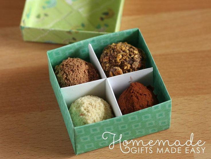 Make your own origami gift box with lid and internal divider: