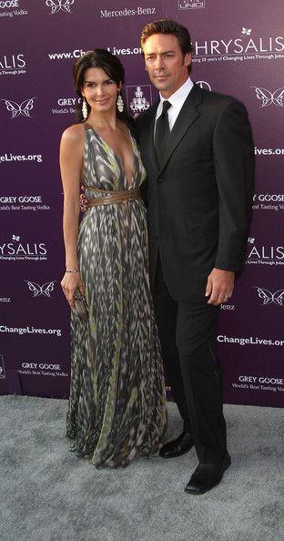 Angie Harmon & Jason Sehorn - 8th Annual Chrysalis Butterfly Ball 2009