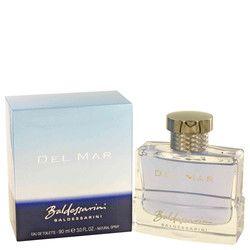 Baldessarini Del Mar by Hugo Boss Eau De Toilette Spray 3 oz (Men)