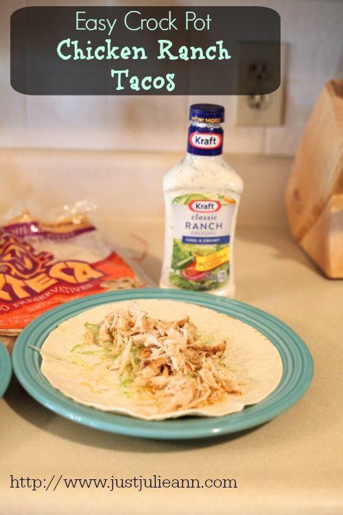 Easy Ranch Chicken Taco Recipe #FoodDeservesDelicious #cbias #shop