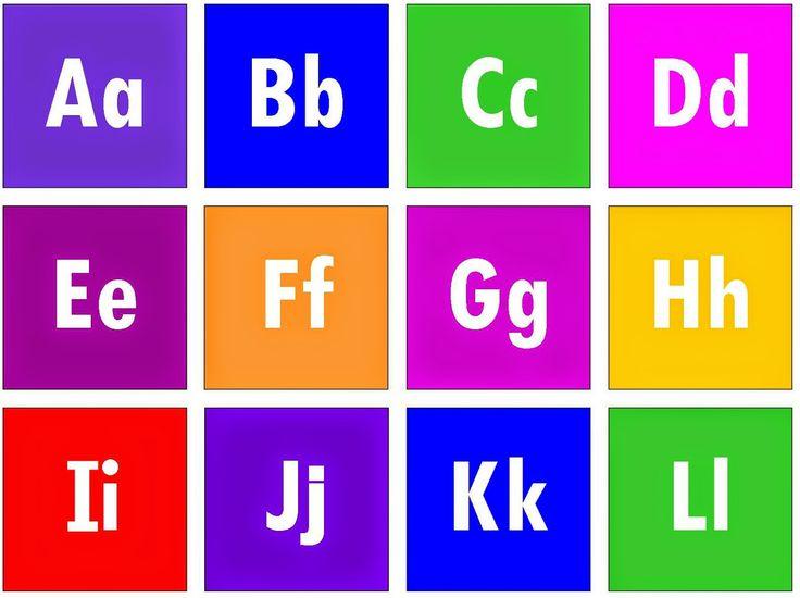 Relentlessly Fun, Deceptively Educational: Printable Alphabet Blackout Game