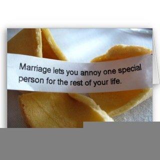 wedding ring like way thinking joke