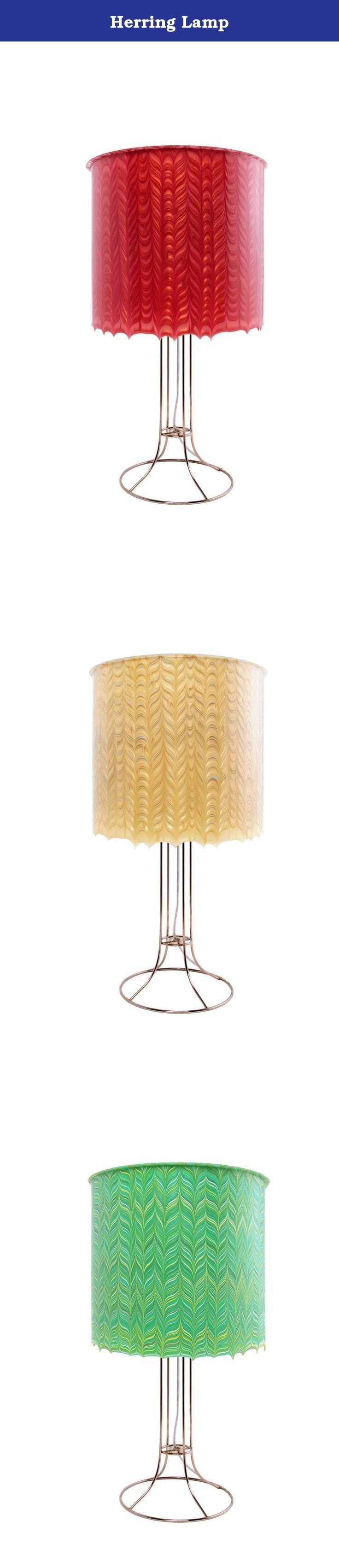 Herring Lamp. Timeless and distinctive; the skeleton of a fish, a woven fabric or the arrangement of bricks and boards... herringbone embodies timeless elegance and simplicity. Our techniques for layering color neutralize the sterile effect of compact fluorescent bulbs, instead emoting a light that is warm and inviting, making high efficiency bulbs the ideal and responsible choice. We have mastered a combination of elegance and efficiency.