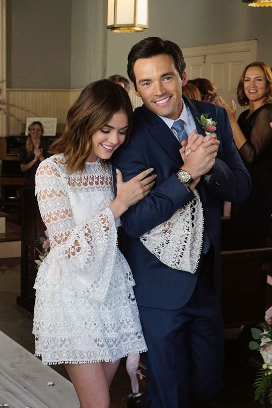 Mr. & Mrs. Fitz Pretty Little Liars❤ ninabubblygum ️
