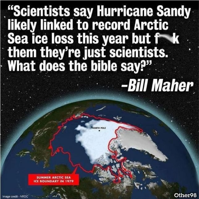 Even If You're A Global Warming-Skeptic, You'll Be Amused By This Bill Maher Quote