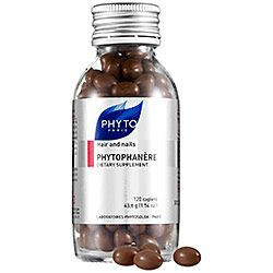 Phyto - Phytophanère Hair And Nails Dietary Supplement  #sephora Makes hair and nails grow quickly and gives you healthier skin.  Stay hydrated when you take it though, as it is oils and biotin and those muthas make pimples without enough water.