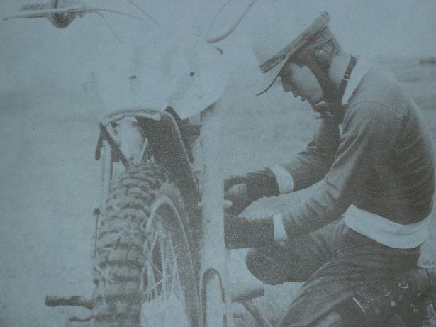 隅谷選手は・・ロードに入る前には・・MXに身を置いて居た・・ これは、その当時の貴重な画像です
