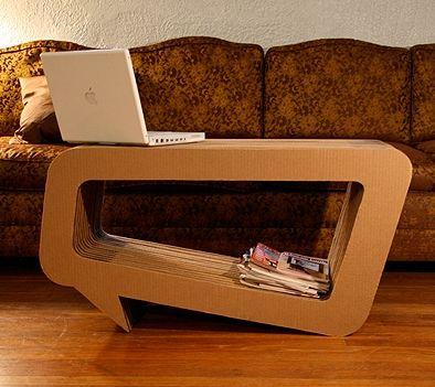 Cardboard Furniture by Leo Kempf