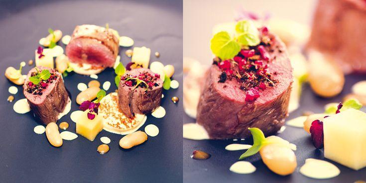 """Capriolo in montagna"" dello chef Lorenzo Cogo  #lamadia #lamadiatravelfood #food"