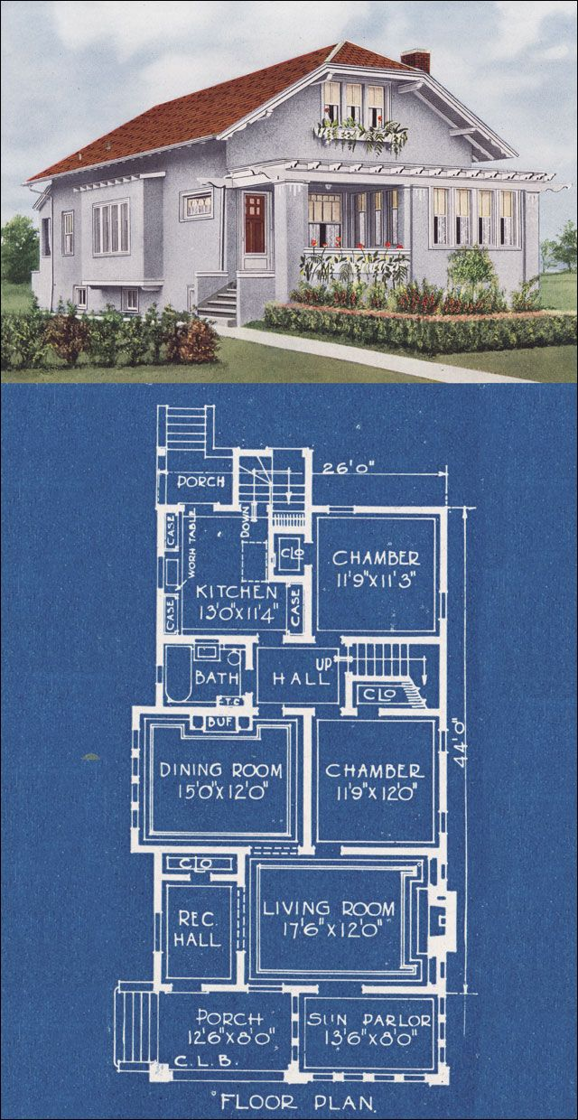 337 best 1920s house images on Pinterest | 1920s house, Architecture ...