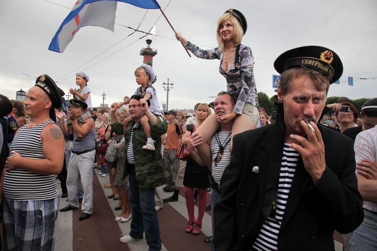 Russian Navy Day by Alexander Petrosyan