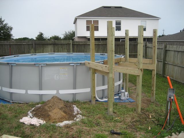 129 best above ground pool deck ideas images on pinterest ground pools backyard ideas and pool fun