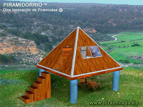 Hórreo piramidal de Piramicasa