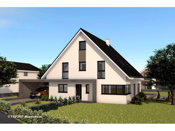Massivhaus bungalow satteldach  Die besten 25+ Massivhaus anbieter Ideen auf Pinterest ...